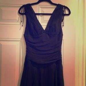 Express black cocktail dress women's size 4